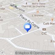 Carte de CIC Banque Cio-bro Chartres, France