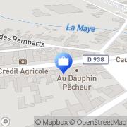 Carte de Axa Assurances Rue, France