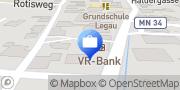 Karte VR-Bank Memmingen eG, Filiale Legau Legau, Deutschland