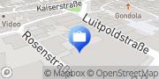 Karte DEVK Versicherung: Nadine Keßler Kitzingen, Deutschland