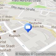 Karte VR-Bank Bad Neustadt an der Saale, Deutschland