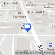 Karte Postbank Neustadt, Deutschland