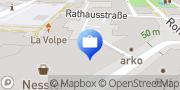 Karte Volksbank Stormarn eG Niederlassung der Volksbank eG, VBS, Geldautomat Ahrensburg, Deutschland