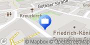 Karte AOK PLUS - Filiale Suhl Suhl, Deutschland
