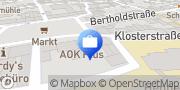 Karte AOK PLUS - Filiale Schleusingen Schleusingen, Deutschland