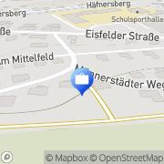 Karte Andre Zetzmann Schleusingen, Deutschland