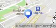 Karte AOK PLUS - Filiale Ilmenau Ilmenau, Deutschland
