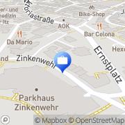 Karte Markus Tammer Steuerberater, Rechtsanwalt Coburg, Deutschland