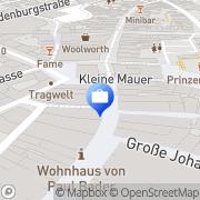 Karte Sabine Kastner Steuerkanzlei Coburg, Deutschland