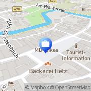 Karte Finanzplanung Bopp Ebermannstadt, Deutschland