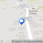 Karte Agentur Franken Büro- & Versicherungsservice Gößweinstein, Deutschland