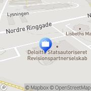 Kort Deloitte Slagelse, Danmark