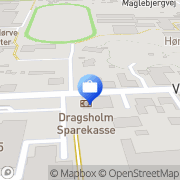 Kort Dragsholm Sparekasse Hørve, Danmark