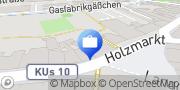 Karte HypoVereinsbank Kulmbach Kulmbach, Deutschland