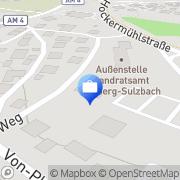 Karte Treukontax Amberg, Deutschland