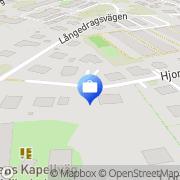 Karta Erojub AB Stora Billingen, Sverige