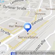 Karte Reinhold Bauer Erding, Deutschland