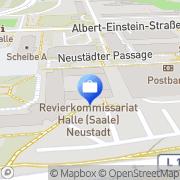 Karte Sparda Bank Halle, Deutschland