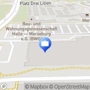 Karte Bankhaus August Lenz Halle, Deutschland