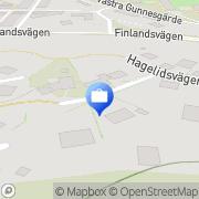 Karta Niny Konsult Göteborg, Sverige