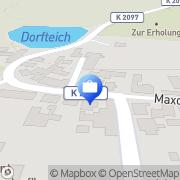 Karte Rosenberg, SiegfriedVersicherungskaufmann Zabitz, Deutschland