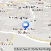 Karta Moderna Försäkringar Göteborg, Sverige