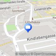 Karte Öffentliche Feuerversicherung Sachsen Anhalt Halle, Deutschland
