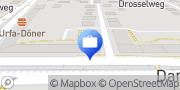 Karte Karlsruher Versicherung AG Halle Rainer Hartmann Halle, Deutschland