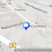 Karte BCP Chemie Halle (Saale), Deutschland