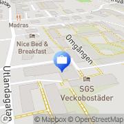 Karta HANSA KREDIT Göteborg, Sverige