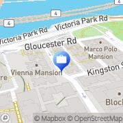 Map walter international Causeway Bay, Hong Kong