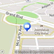Map Maitland Trim Investment & Financial Planners Joondalup, Australia