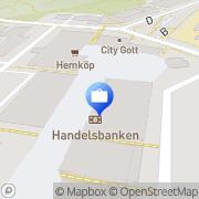 Karta Handelsbanken Göteborg, Sverige