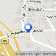 Karte Christian Schmidt Versicherungsmakler Wackersdorf, Deutschland