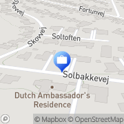 Kort JLH Group I/S Gentofte, Danmark