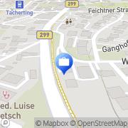 Karte ERGO Versicherung Sandra Görlich Tacherting, Deutschland