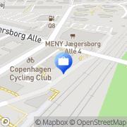 Kort Nykredit Bank Charlottenlund, Danmark