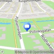 Karta Jowi-Konsult Helsingborg, Sverige