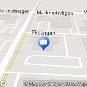 Karta Brainco AB Helsingborg, Sverige