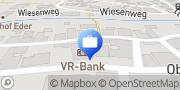 Karte VR-Bank Landau-Mengkofen eG, Geschäftsstelle Eichendorf Eichendorf, Deutschland