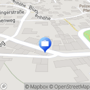 Karte HUK-COBURG Versicherung Daniela Baur-Hempel in Pfarrkirchen Pfarrkirchen, Deutschland