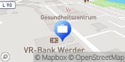 Karte VR-Bank Fläming eG, Geschäftsstelle Werder Werder (Havel), Deutschland
