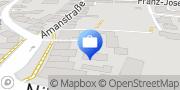 Karte VR GenoBank DonauWald eG, Hauptstelle Deggendorf Deggendorf, Deutschland