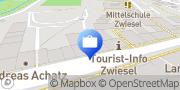 Karte VR GenoBank DonauWald eG, SB-Geschäftsstelle Zwiesel Zwiesel, Deutschland