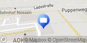 Karte AOK PLUS - Filiale Nossen Nossen, Deutschland