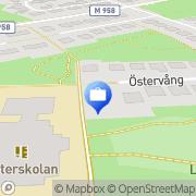 Karta Wikforss Management Södra Sandby, Sverige
