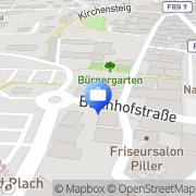 Karte VR-Versicherungsdienst Grafenau, Deutschland