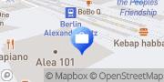 Karte AXA Versicherung Stephan Heidemann - Alexanderplatz Berlin, Deutschland