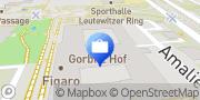 Karte AOK PLUS - Filiale Dresden Cotta Dresden, Deutschland