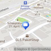 Karte Woitsche Oliver Allianz Versicherungsbüro Attnang-Puchheim, Österreich